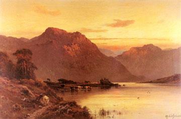 Alfred de Breanski Sr Gemälde