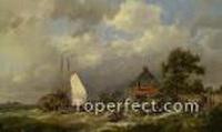 Hermanus Koekkoek Snr Gemälde