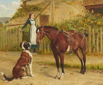 Samuel Edmund Waller Gemälde