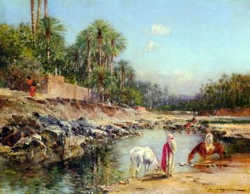 Victor Huguet Gemälde
