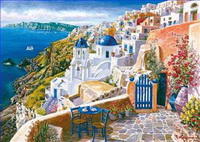 Ägäisches Meer und Mittelmeer Gemälde
