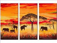 Afrika Gemälde