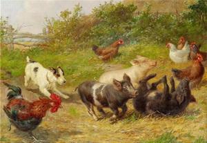 Tier Gemälde