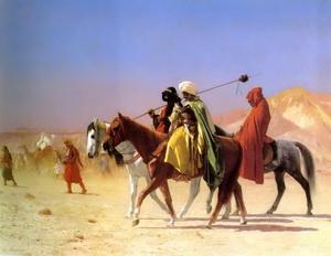 Arabisch Gemälde