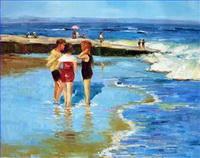 Strand Gemälde
