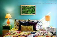 Schlafzimmer Dekorationskunst