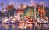 Schiff Gemälde