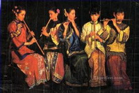 Yifei Chen Gemälde