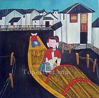Chinesische Abstraktion Gemälde