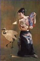 Chinesischer Körper Gemälde