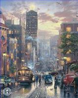 städtische Landschaft Gemälde