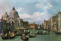 Klassische Venedig Gemälde