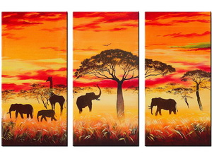 Elefant Gemälde