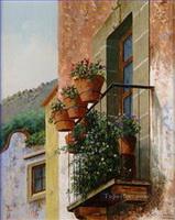 Europäische Stadte Gemälde