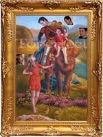 Gemälderahmen Gemälde