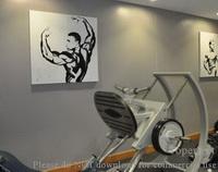 Fitnessstudio Dekorationskunst