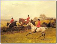 Jagd Gemälde
