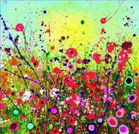 Blumen der modernen Dekorationskunst Gemälde