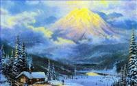 Berg Gemälde