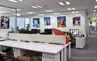 Büro Dekorationskunst