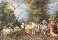 Tiere von unterschiedlichen Sorten Gemälde