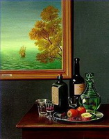 Stillleben des Realismus Gemälde