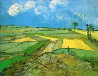 Landschaft auf der Ebene Gemälde