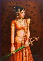 Populär in Indien Gemälde