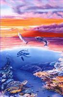Fishe Aquarium Gemälde