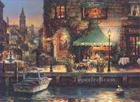 Moderne Venedig Gemälde