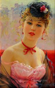 Frau Gemälde
