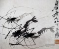 Qi Baishi Shrimps 1 traditionell chinesisches