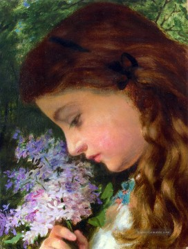 Girl With Lilac Sophie Gengembre Anderson Ölgemälde