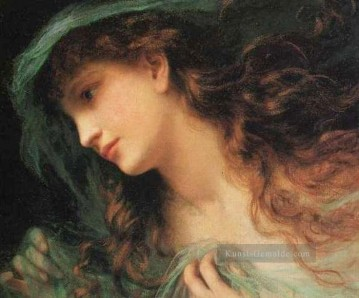 F Malerei - Das Head Of A Nymph Genre Sophie Gengembre Anderson