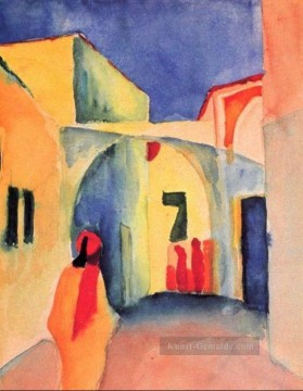 August Macke Werke - A Straße August Macke
