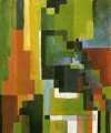 Coloured Forms II August Macke