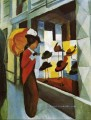Hat Shop Hutladen August Macke