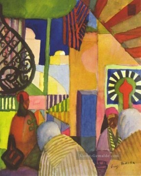 August Macke Werke - im Bazar August Macke