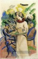 Afternoon in the Garden August Macke