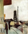 Kathedrale in Freiburg Swit August Macke
