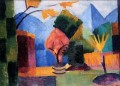 Garten am Thuner See August Macke
