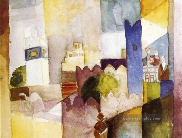 August Macke Werke - Kairouan August Macke