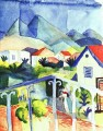 St Germain bei Tunis August Macke