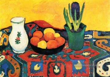 Style Life With Fruits August Macke Ölgemälde