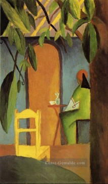 Turkish Cafe II August Macke Ölgemälde