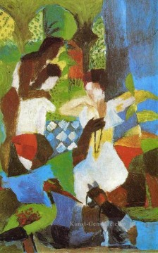 August Macke Werke - Turkish Jewel Trader August Macke