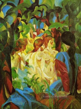 GIRLS August Macke Ölgemälde