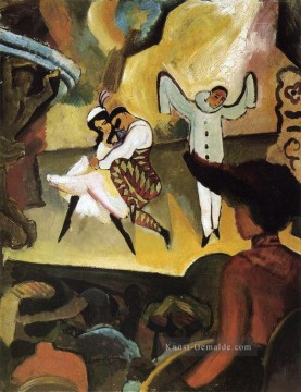 August Macke Werke - Russisches Ballett I August Macke