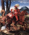 The Knight The Young Girl And Death Renaissance maler Hans Baldung