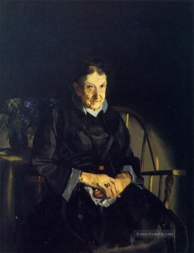 Tante Fanny aka Old Lady in Black Realist Ashcan Schule George Wesley Bellows Ölgemälde